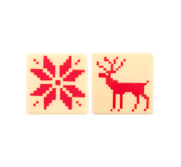 NORDIC CHRISTMAS RED SET