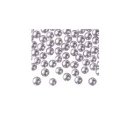 Silver pearls / 7 mm